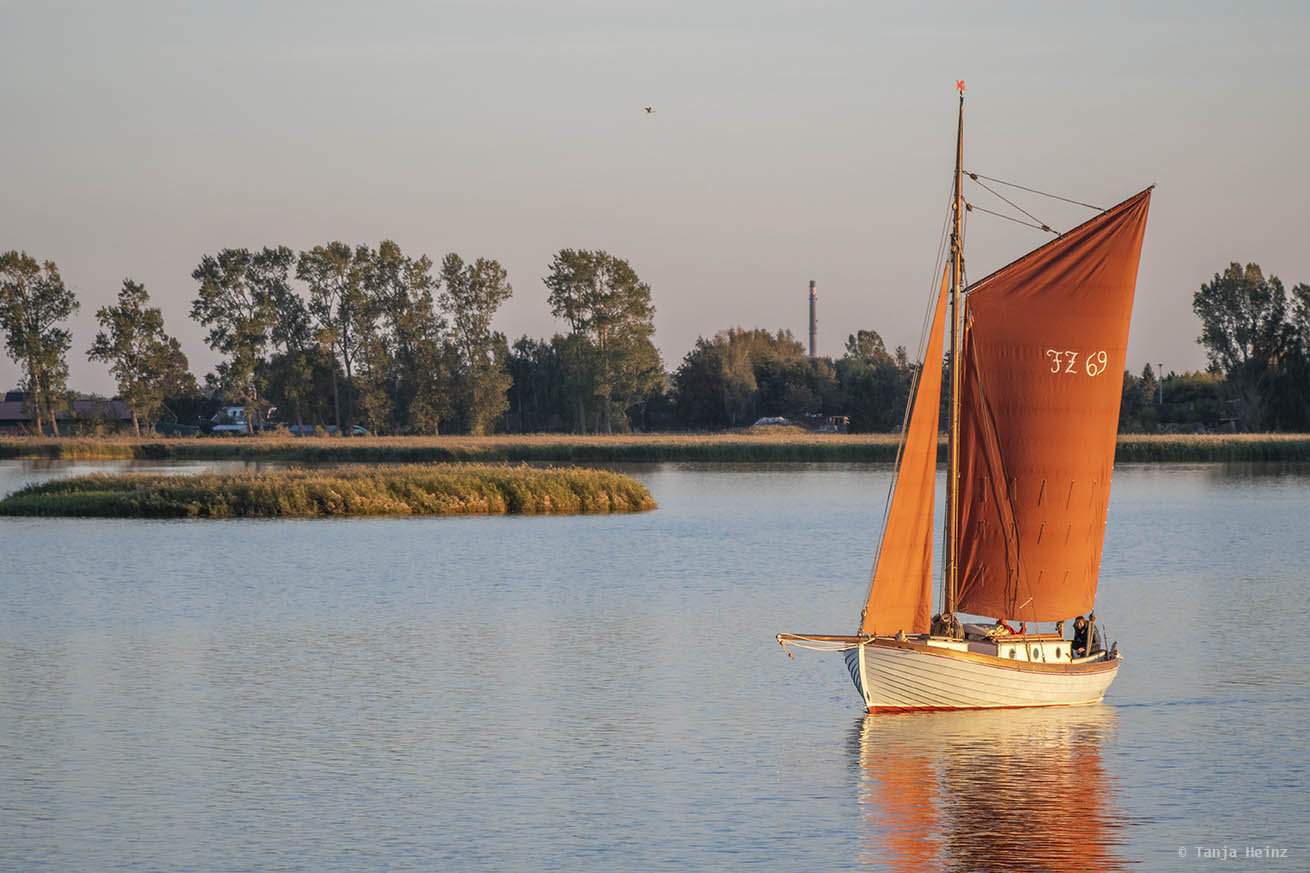 Boot in Zingst