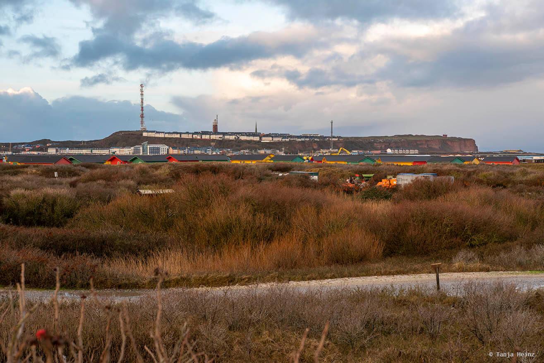 Aussicht auf Helgoland