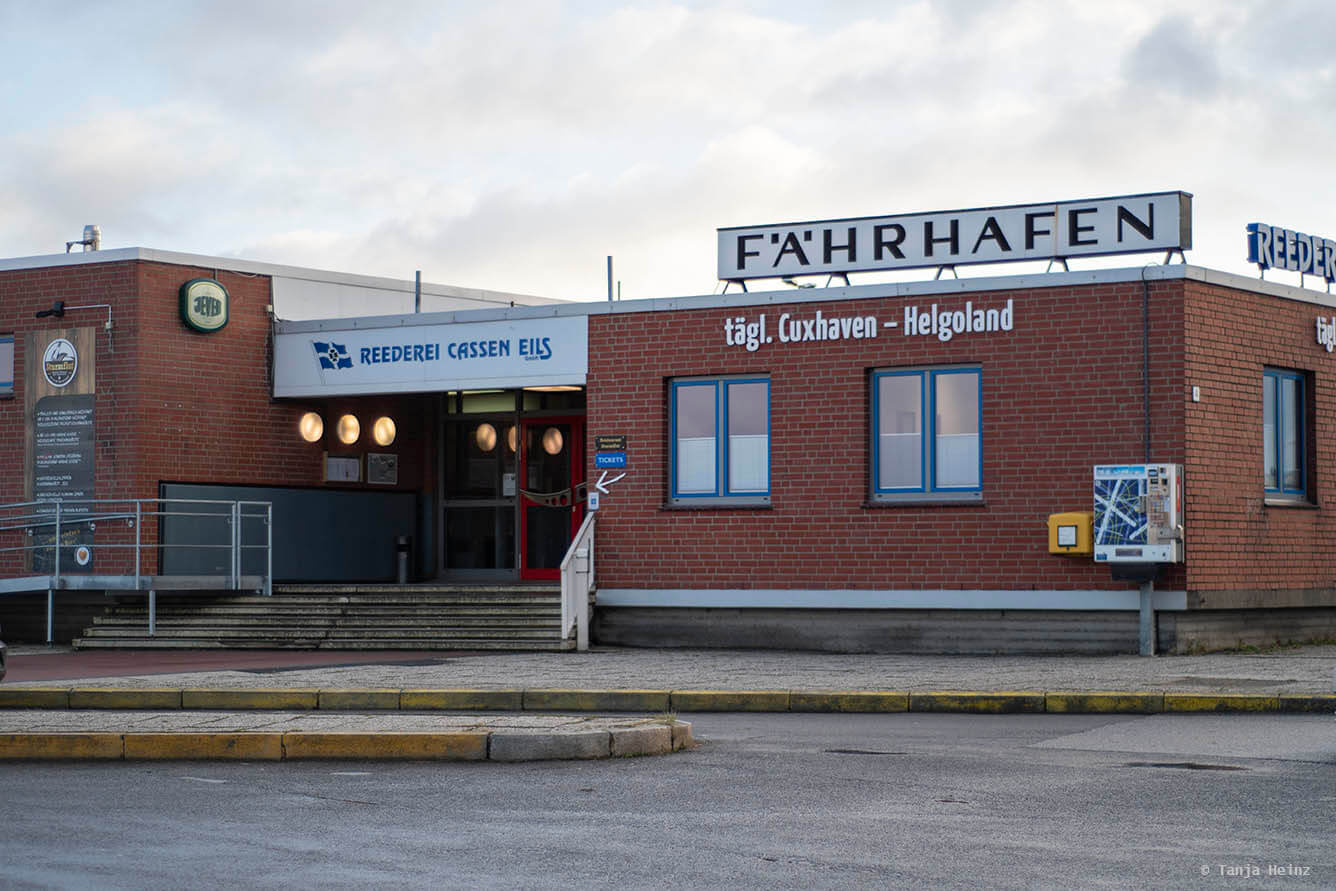 Fähre von Cuxhaven nach Helgoland