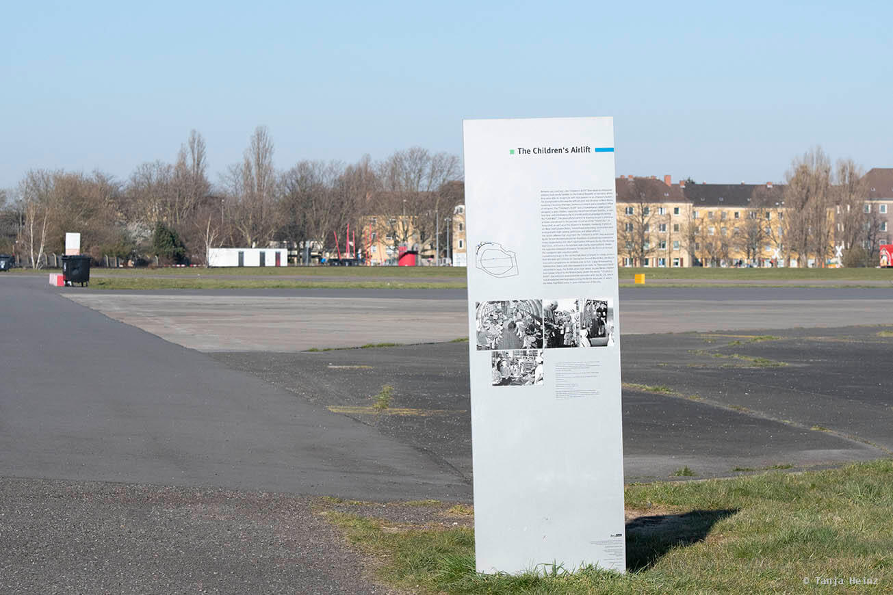 History on the Tempelhofer Feld