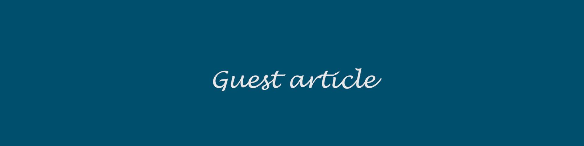 Guest article