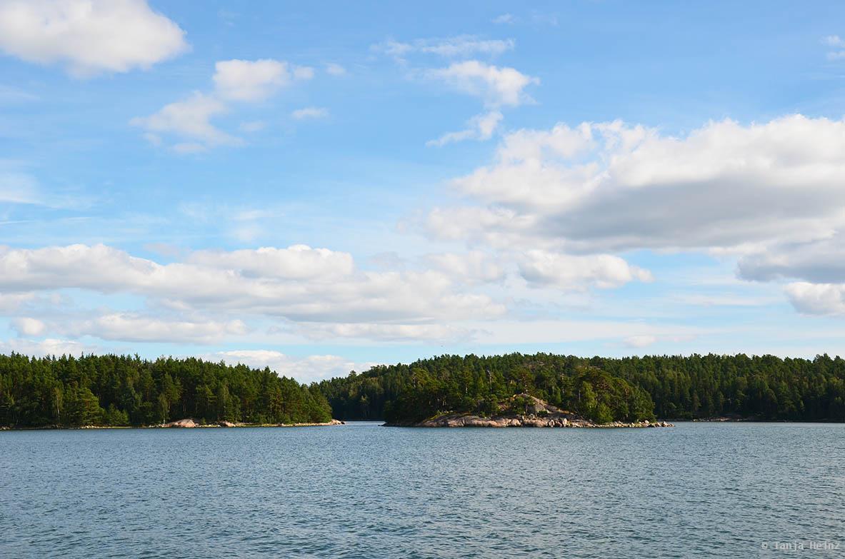 Schärengarten in Finnland