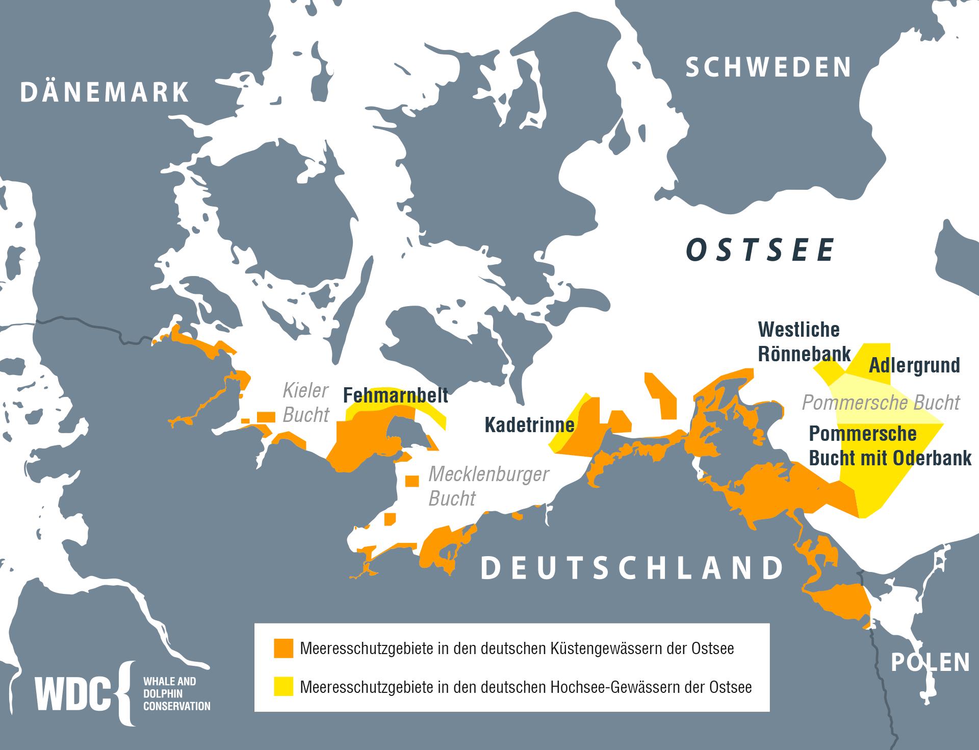 Schutzgebiete in der Ost- und Nordsee