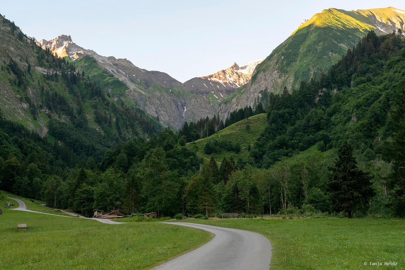 Mountains in Spielmannsau